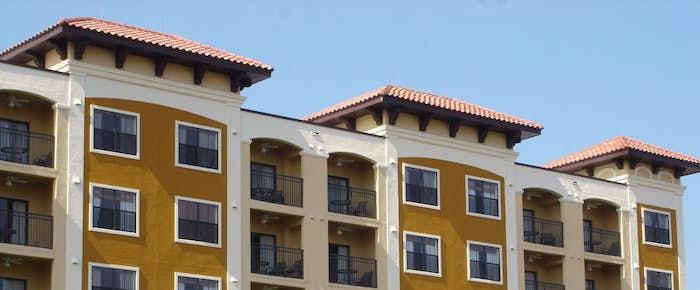 EIFS on an apartment complex