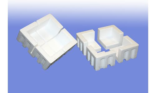 Molded EPS protective packaging - standard corners