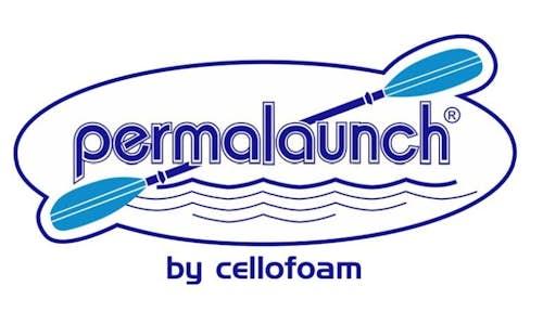 Permalaunch kayak dock logo