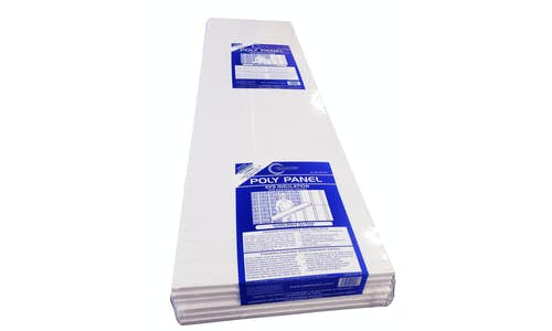 Photo of package of Poly Panel EPS insulation