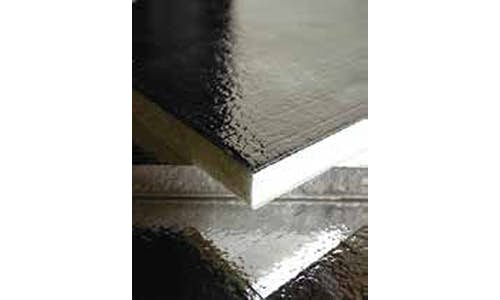 Reflective facer used on some Poly Shield insulation